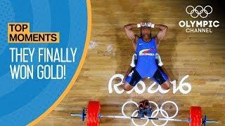 Top 5 Athletes Who Finally Won Gold