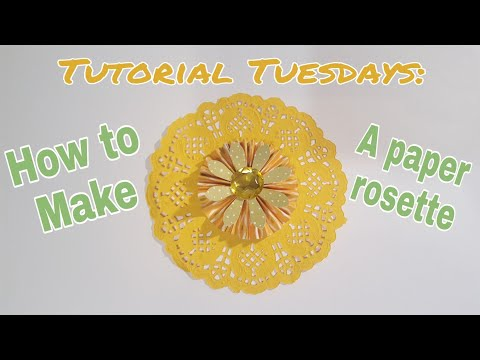 How to make a paper rosette using a scoreboard | Planning With Eli