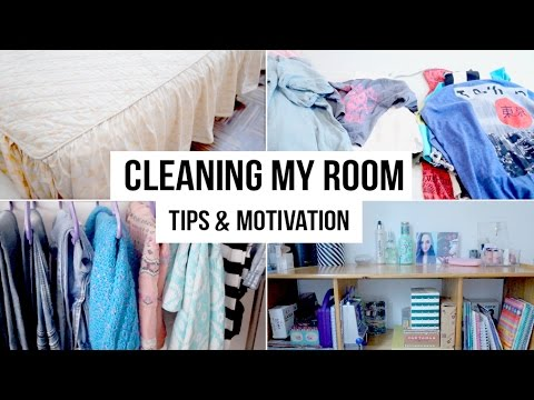 CLEAN YOUR ROOM IN 10 STEPS   Tips & Motivation