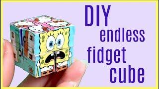 Download DIY Endless Infinity Fidget Cube! Magic Folding Duct tape Cube Video