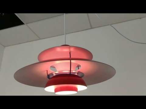 Ph50 pendant lamp red