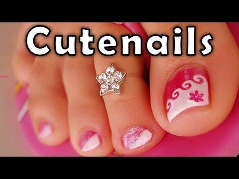Pedicure tips & toe nail art for perfect toenails by cute nails
