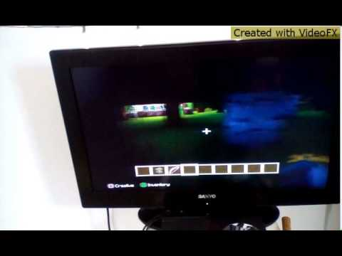 How to make a fire bow in mind craft ps3