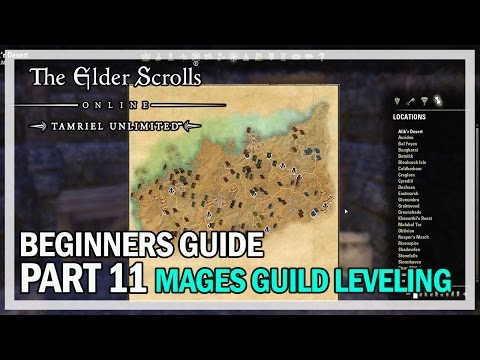 ESO Beginners Guide to Success Part 11 - Mage's Guild & Lorebook locations