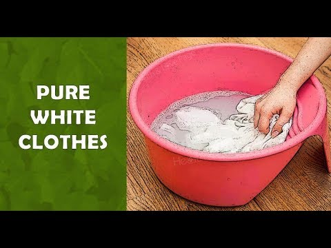 Simple Tricks to Make Your Clothes Pure White and Stainless