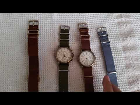 Timex Weekender Antique Brown Brass Watch Review