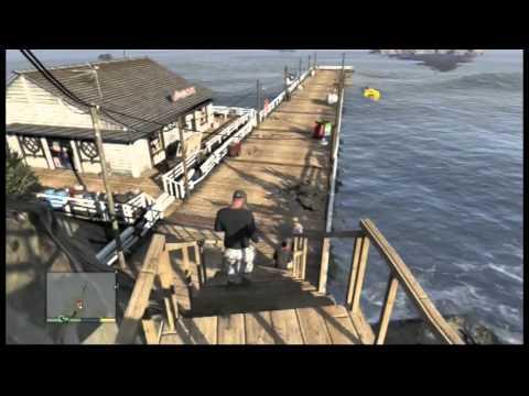 Commen trouver le sous marin dans GTA 5