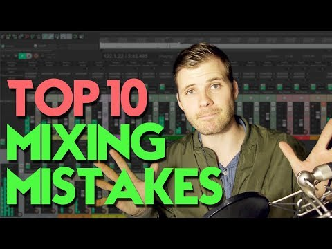 Top 10 Mix Mistakes Beginners Make (I learned the hard way)