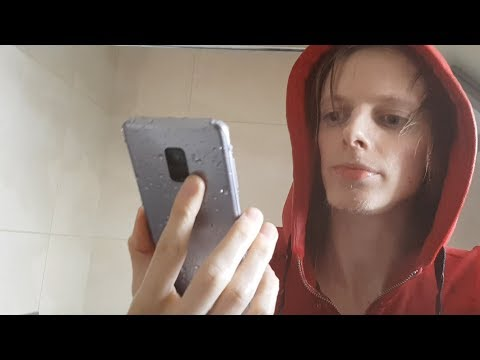 Today I Took a Cold Shower With Samsung Galaxy A8!