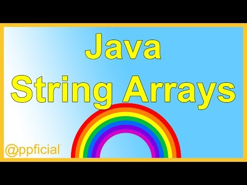 String Array in Java Programming by Example - length field vs. length() method - APPFICIAL