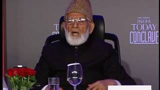 India Today Conclave: Q&A With Dr. Farooq Abdullah And Syed Ali Khan Geelani