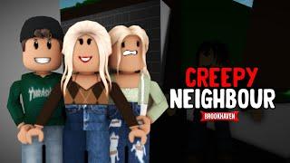 """CREEPY NEIGHBOUR"" - BROOKHAVEN MOVIE (RP) 😱  VOICED   FULL MOVIE"