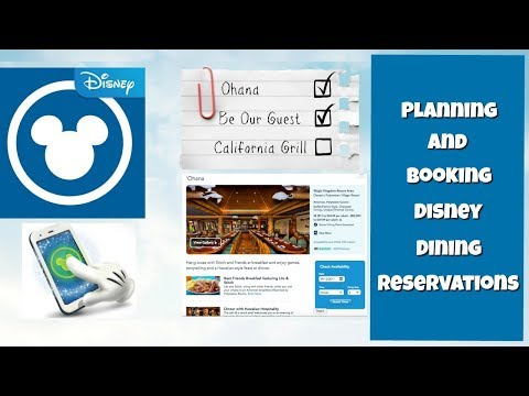 How to plan and book advanced dining reservations for your Walt Disney World trip