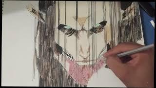 Drawing Eren Yeager Attack On Titan Shingeki No Kyojin