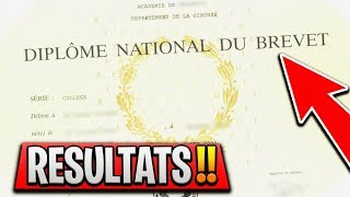 Mes RÉsultats Au Brevet 2018 ! (catastrophe)
