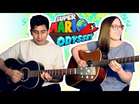 Jump Up, Super Star! - Super Mario Odyssey (Acoustic Cover)