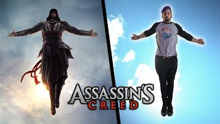 Stunts From Assassins Creed In Real Life (Parkour & Flips)