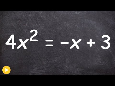 How to find the solutions of an quadratic equation - Free Math Help