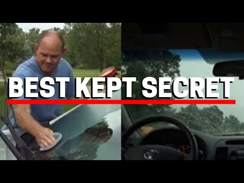 Wax Your Car's Windshield And Watch What Happens!
