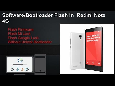 Mi Note 4 Flashing Without Unlock Bootloader