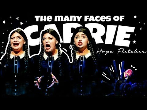 🏹the many faces of carrie hope fletcher [+meeting wednesday addams]  \\ TheWickeRmoss