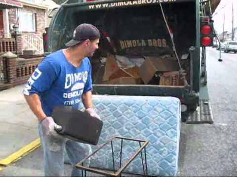 Brooklyn Professional House Furniture Cleanout Service. Total Junk Removal Video NYC. Dimola Bros