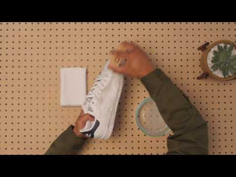 HOW TO CLEAN WHITE SNEAKERS WITH JASON MARKK: LEATHER