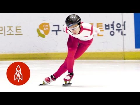 Training With a World-Class Speed Skater