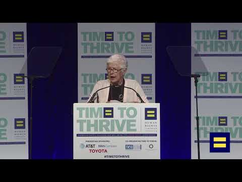Betty DeGeneres, LGBTQ Ally and Advocate, Receives 2018 Upstander Award at Time to Thrive