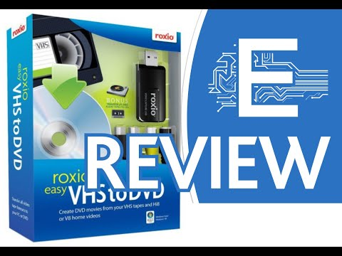 Roxio Easy VHS to DVD Old Version Review