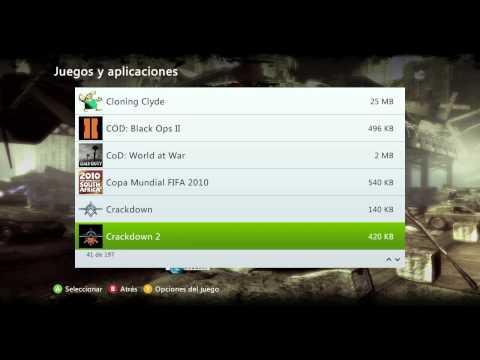 Como borrar datos de Juego en Xbox 360