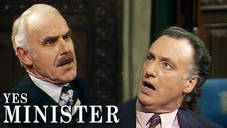Chief Whip Puts Jim In His Place | Yes Minister | BBC Comedy Greats
