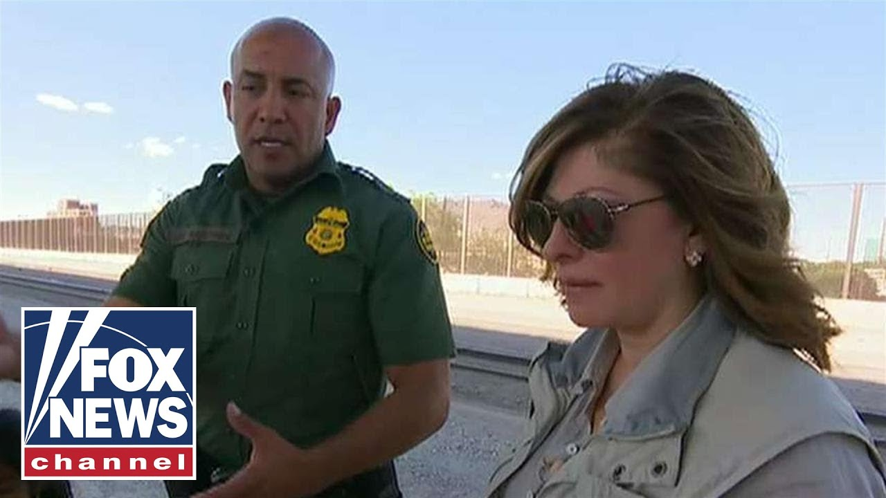 Maria Bartiromo joins the border patrol for a ride along