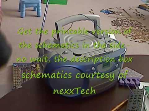 How to make a wireless code transmitter (telegraph machine)