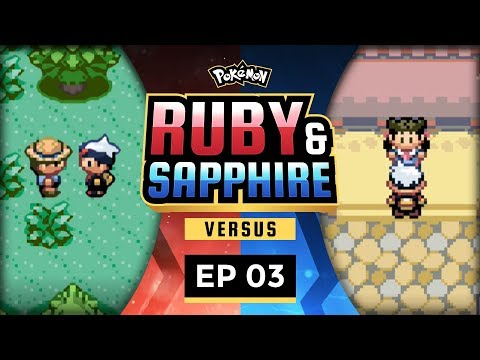 Pokemon Ruby and Sapphire Versus - EP03 | A Devastating Blow!