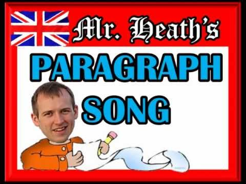 PARAGRAPH WRITING SONG by Heath