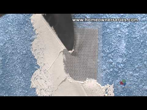 How to Fix Drywall - Screen Patch - Drywall Repair