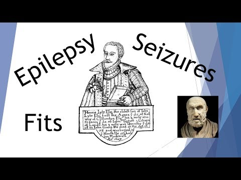 Origin and meaning of Epilepsy Seizures and Fits