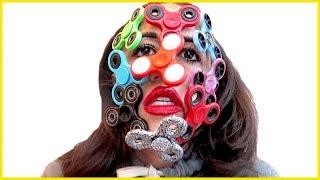 Full Face Of Fidget Spinners