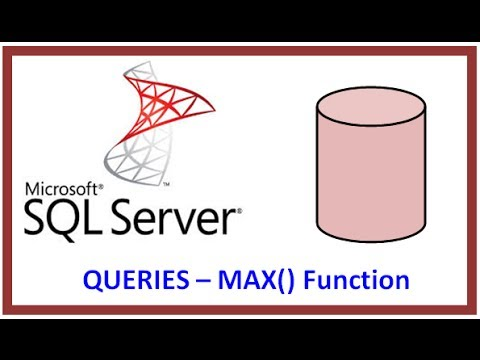 SQL Server - Query Table Record Data via TSQL - MAX() Function