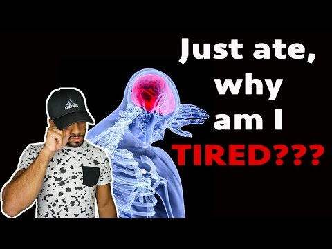 Why do you get tired after eating?