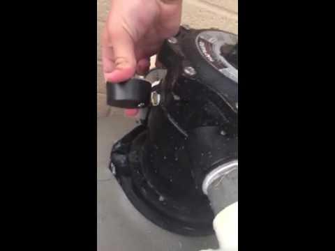 Changing pool filter pressure gauge