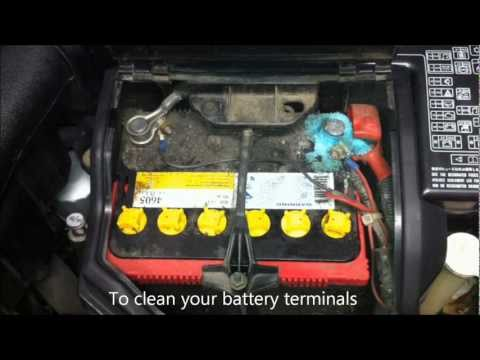 How To Clean Battery Terminals With Coke
