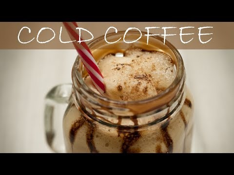 How to Make Cold Coffee at Home | Cold Coffee Recipe | Cold Coffee With Ice-Cream