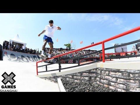 Xxx Mp4 FULL BROADCAST Men's Skateboard Street Final X Games Shanghai 2019 3gp Sex