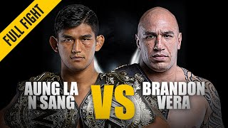 Aung La N Sang vs. Brandon Vera | ONE Full Fight | October 2019