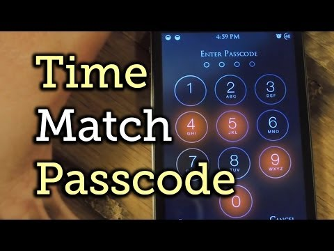 Sync Your Passcode with Current Local Time for Stronger iPhone Security - iOS 7 [How-To]