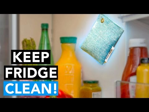 BEST WAY TO CLEAN & REMOVE BAD FRIDGE ODORS - NO Chemicals & Lasts 2 YEARS