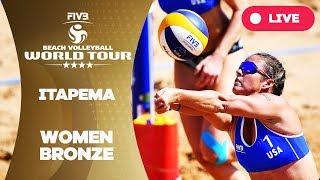 Itapema 4-Star - 2018 FIVB Beach Volleyball World Tour - Women Bronze Medal Match