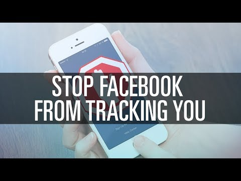 How To Stop Facebook From Tracking You!
